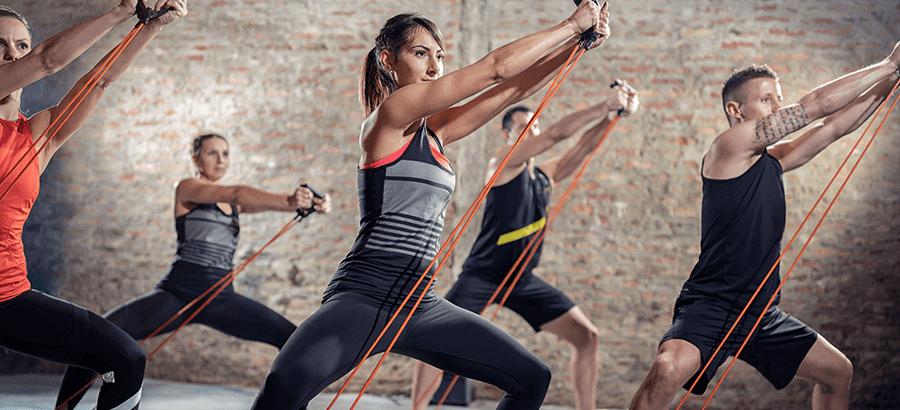 Kraft-Ausdauer-Trainer Ausbildung: Grouptrainerausbildung: Pump, Ausdauer, Workout, BBP, Yoga- Pilates, Fitness Kick Box