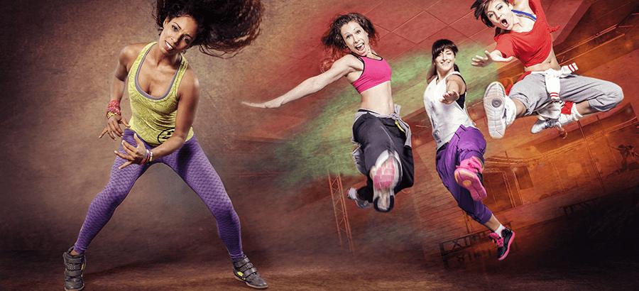 Latin Dance Trainer Ausbildung; Grouptrainer Ausbildung aus Aerobic & Tanz zu lateiamerikanischer Musik.