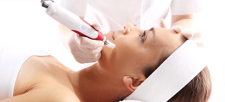 Micro Needling Ausbildung: Weiterbildung zur Kosmetikausbildung, mit feinen Nadeln gegen Falten, schlaffes Gewebe & Hautalterungen